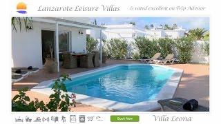 Villa Leona, Los Mojones, Puerto del Carmen, Lanzarote