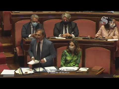 La dichiarazione di voto del Senatore Ignazio La Russa sulle comunicazioni del Presidente Conte