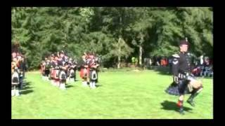 Hausgauen Tattoo 2011 - 1st Royal Tank Regiment / GLenmoriston Pipe Band