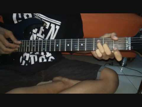 Belajar Intro lagu ThreeSixty - Dewi  (Guitar cover)