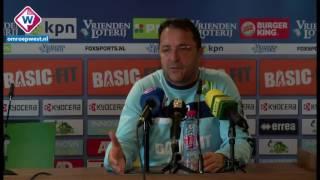 ADO-trainer Zeljko Petrovic over aanvaller Mike Havenaar