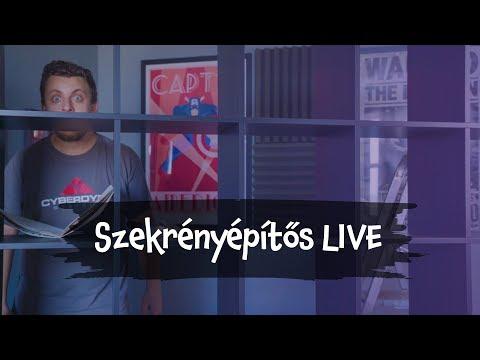 SZEKRÉNYÉPÍTŐS LIVE - 09.27.