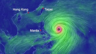 Super Typhoon Mangkhut is heading to the Philippines and maybe Hong Kong