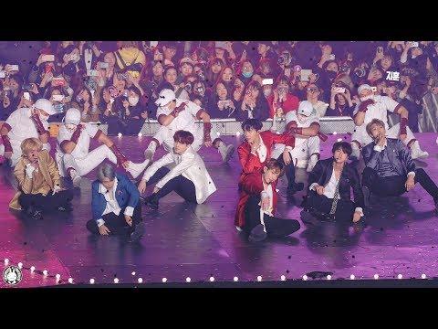 [4K] 181128 방탄소년단 직캠 'IDOL' BTS Fancam @아시아 아티스트 어워드 인천남동체육관 By 벤뎅이