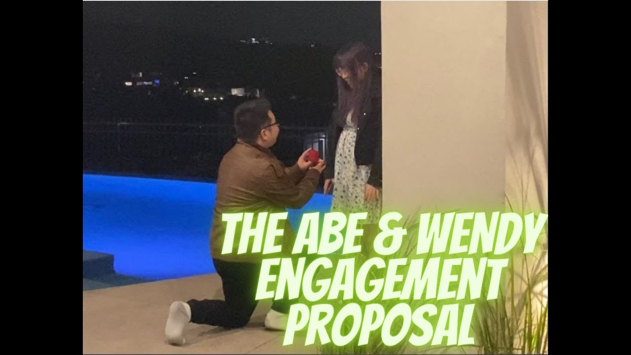 Congratulations to Babo ABE & Wendy (Natsumiii) Engagement Proposal l Valkyrae Tears of Joy