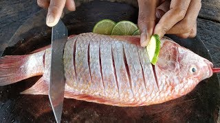 Steamed Fish with Sweet Tamarind Sauce | Kdeb Cooking