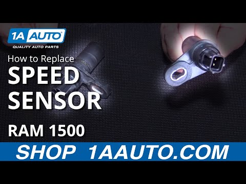 How to Replace Output Speed Sensor 04-09 Dodge Ram