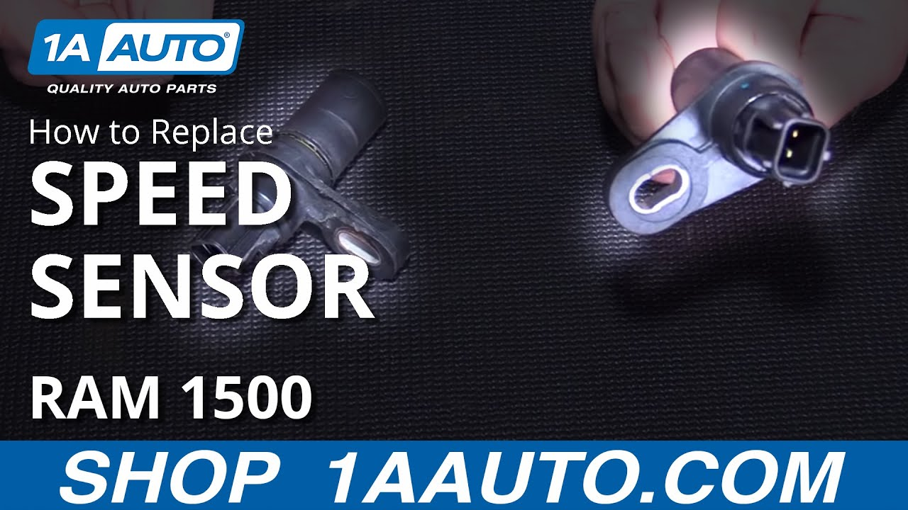 How to Install Replace Output Speed Sensor Dodge Ram BUY QUALITY AUTO PARTS AT 1AAUTOCOM  YouTube