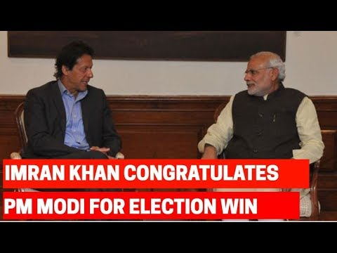 Pakistan PM Imran Khan congratulates PM Modi for landslide victory in Lok Sabha Elections