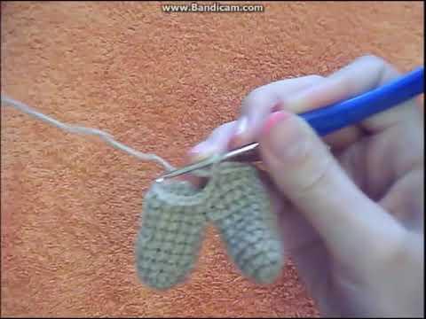"""Игрушка """"Заяц"""".Заяц крючком.Crochet Rabbit.Master Class.Игрушка амигуруми.Игрушка заяц."""