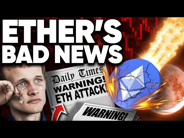 Ethereum Has BAD NEWS!!! Big ETH Crash on this DAY!?