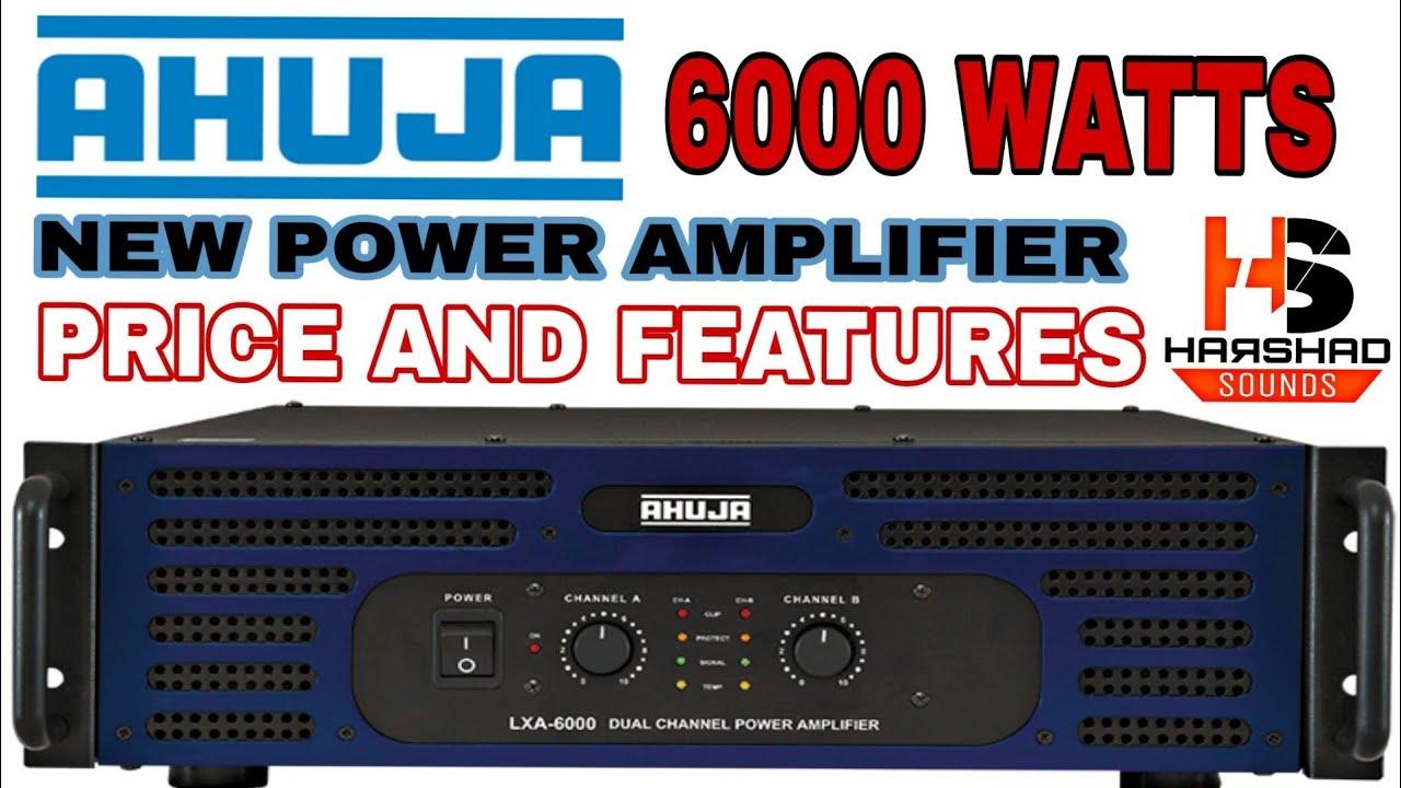 Ahuja amplifier 4000 watt price