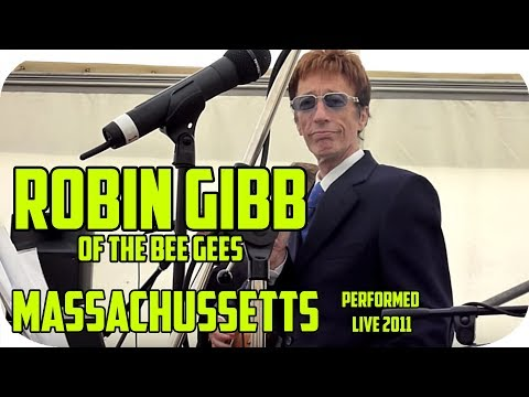BEE GEES Robin Gibb  Massachusetts - Live 2011 with Mike Read @ Robins Home - UK   HD