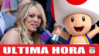 Stormy Daniels compara el wiwi del presidente con Toad de Mario Kart y se hace trending en redes