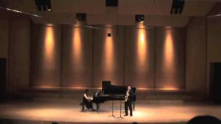 Concerto for Alto Saxophone and String Orchestra by PM Dubois (II,III)