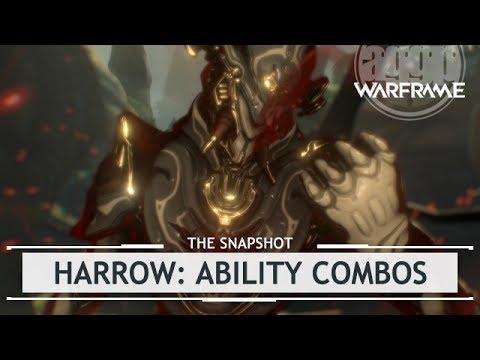 Warframe: Harrow Ability Combos, Finalized Customization & Build - 4 Forma [thesnapshot]