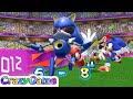 Mario & Sonic At the London 2012 Olympic Games - Team Sonic vs Team Luigi Play Football Gameplay