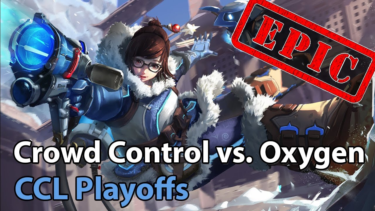 CCL Playoffs: Crowd Control vs. Oxygen - Heroes of the Storm 2021