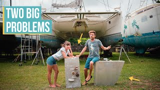 BOAT PROBLEMS: Our Fuel Tanks Are TRASHED!
