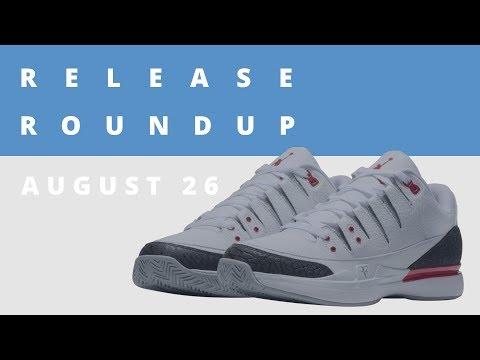Roger Federer Speaks on His Sneaker History & New NikeCourt x Jordan Collab | Release Roundup