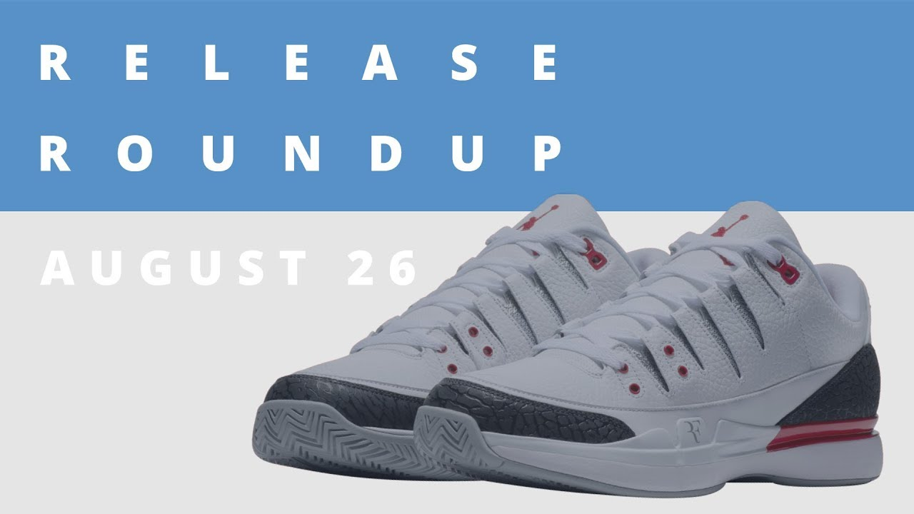 a98780e99d25 Roger Federer Speaks on His Sneaker History   New NikeCourt x Jordan Collab