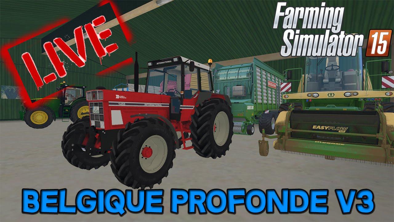 farming simulator 15 belgique profonde v3 live 14 youtube. Black Bedroom Furniture Sets. Home Design Ideas