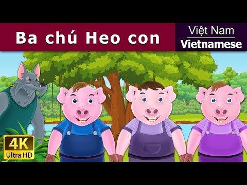 Ba Chú Heo Con - truyện cổ tích việt nam - Phim hoạt hình - Vietnamese Fairy Tales