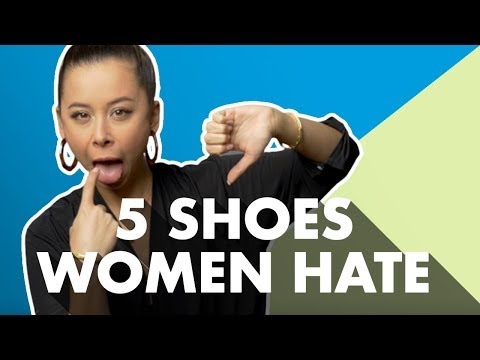 5 Men's Shoe Styles Women Hate