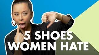 5 Men's Shoe Styles Women Hate