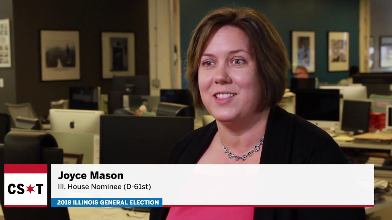 Joyce Mason: Who she is, why she's running for Illinois House, her