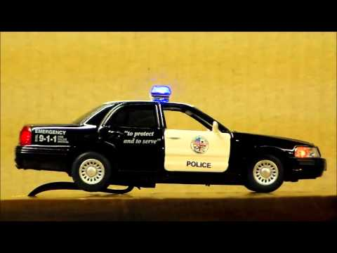 Standard police car