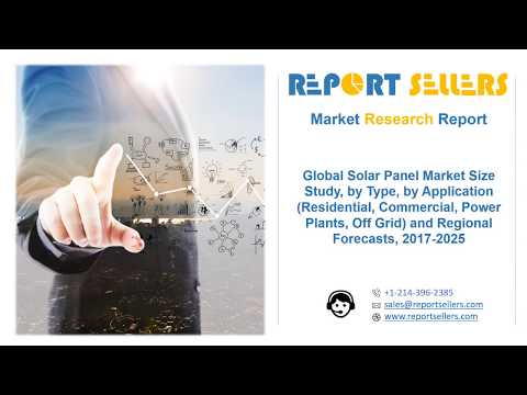 Global Solar Panel Market | Research Report