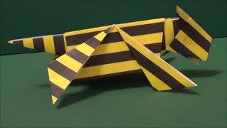 虎を折り紙で作りました。The tiger was made from origami. ▽他にもい...