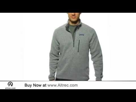 Patagonia Mens Better Sweater 14 Zip Youtube