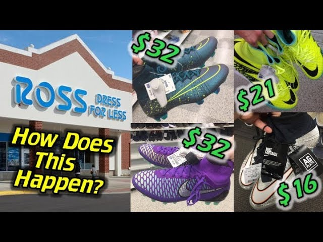 $300 Soccer Cleats End Up at Ross