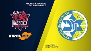 KIROLBET Baskonia Vitoria-Gasteiz - Maccabi FOX Tel Aviv  Highlights |EuroLeague, RS Round 8