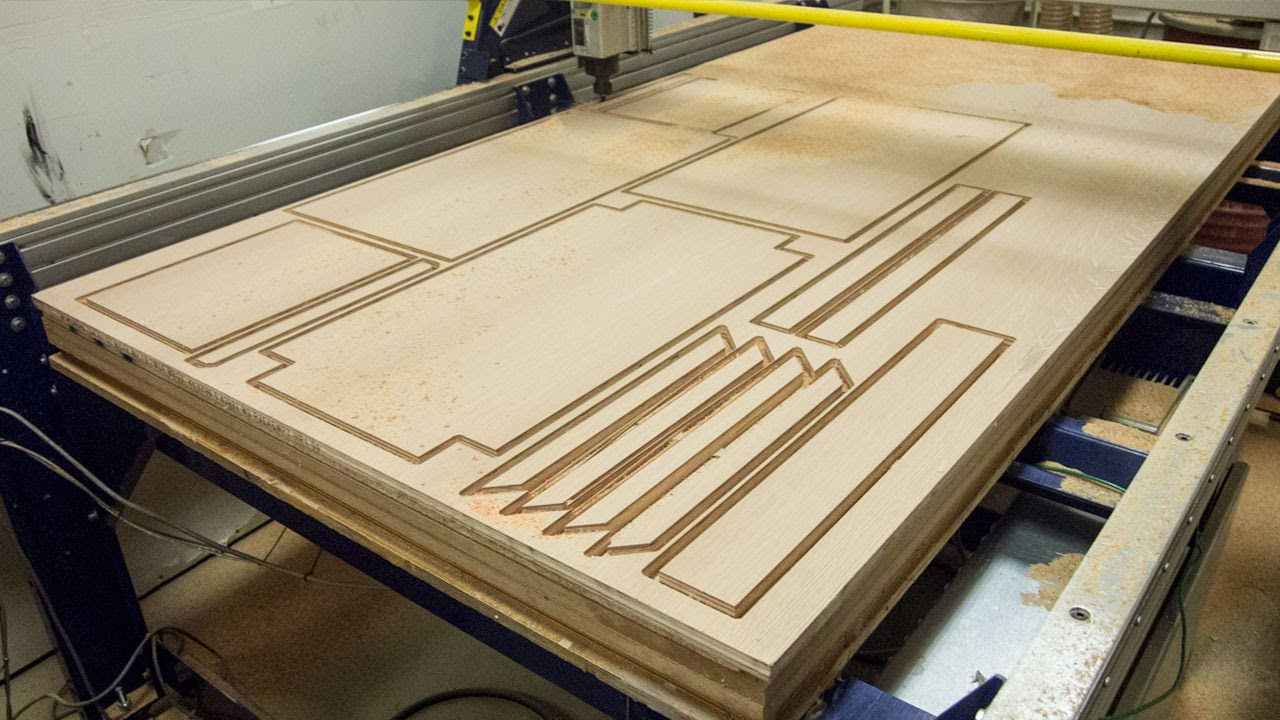 Oak Plywood Cnc Routing Oak Plywood For Cotogna Carts
