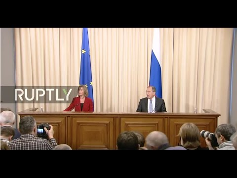 LIVE: Lavrov and EU's Mogherini hold joint press conference in Moscow