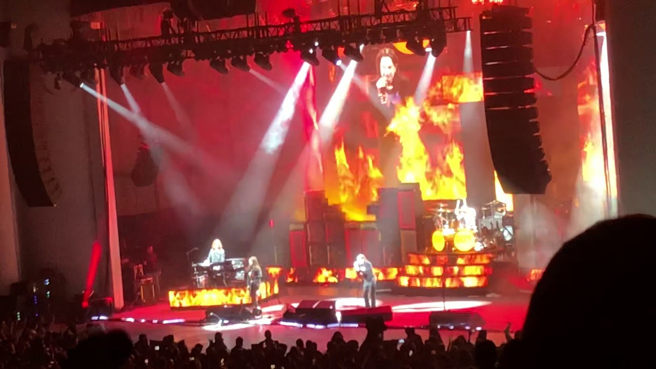 Ozzy Osbourne Crazy Train Live 9/10/18 PNC Banks Art Center New Jersey No  More Tours 2