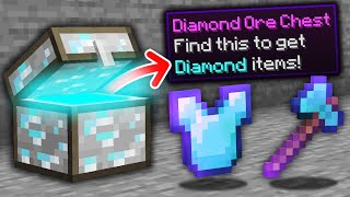 Minecraft, But Every Oŗe Is A Chest