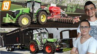 """Wywóz koni, sprzedaż gnojowicy i siew owsa! ✔ FS 19 """"od Zera do Farmera""""#157 MafiaSolecTeam"""