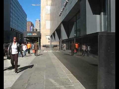 NYU:Poly Campus Walk