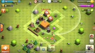 Let's play clash of clans part #002 unsere base