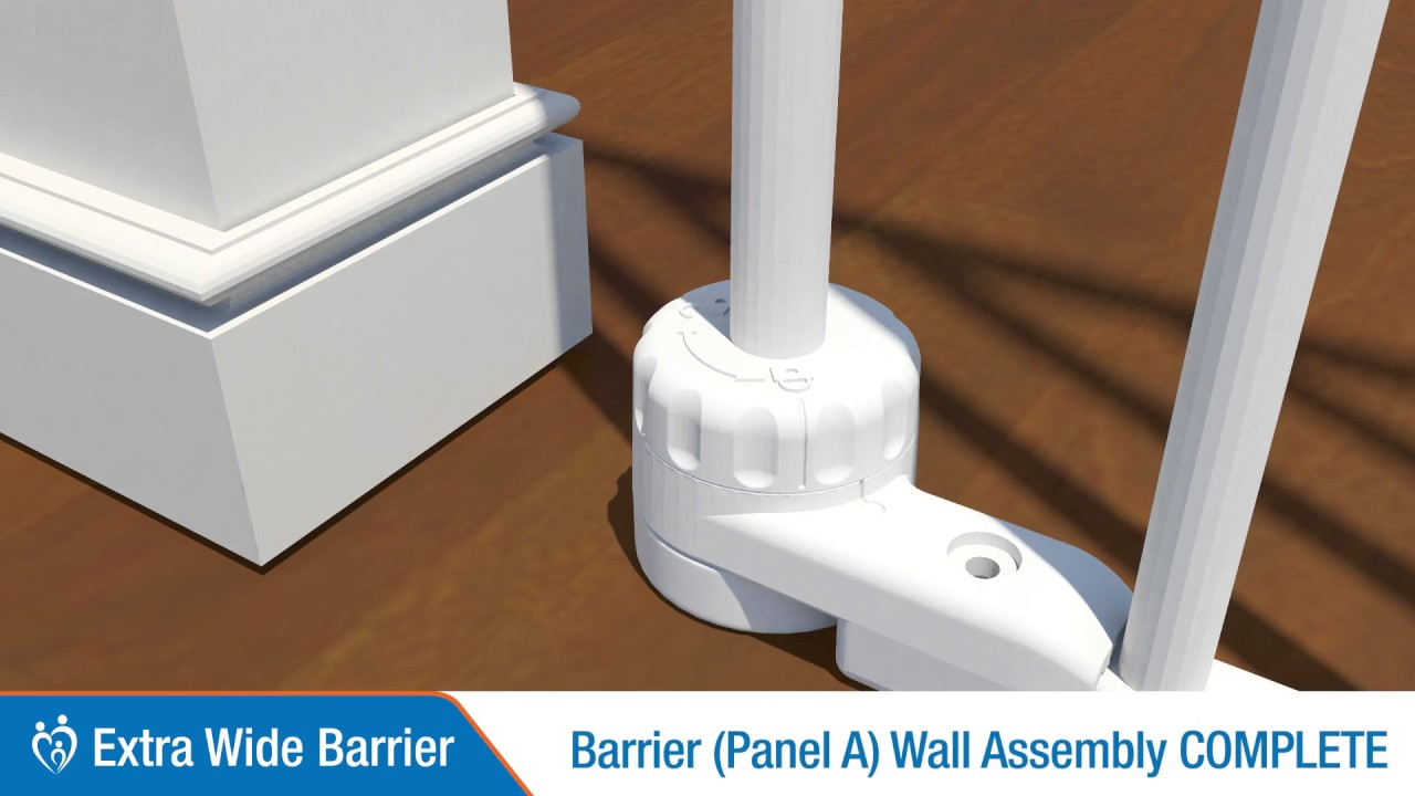 Extra Wide Barrier Installation Perma Child Safety Youtube