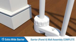 Perma Child Safety™ - Extra Wide Barrier Installation