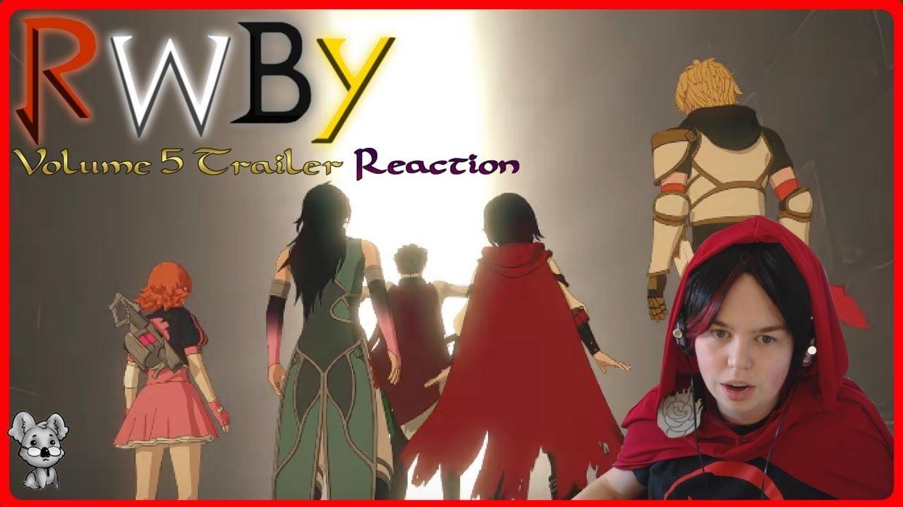 RWBY Volume 5 Trailer, Intro & Yang Short Reactions!   RWBY
