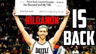 JORDAN KILGANON IS BACK!!! - WINS BATTLE IN THE APPLE DUNK CONTEST