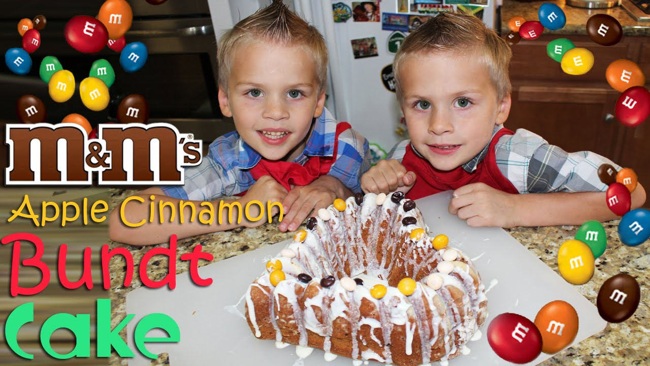 Kid Size Cooking: Apple Cinnamon Bundt Cake