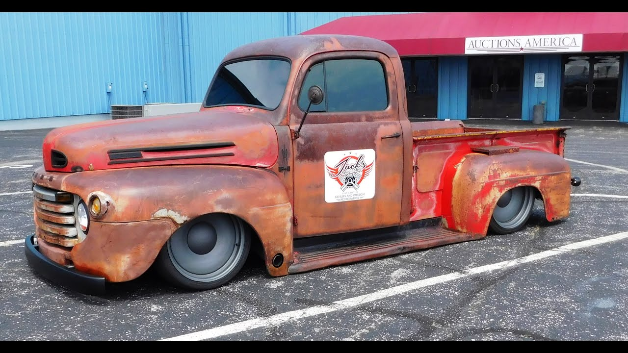 1949 ford f1 hot rod pickup 2016 kavalcade of kool youtube. Black Bedroom Furniture Sets. Home Design Ideas