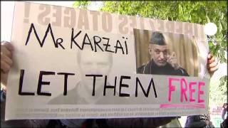 Fransız gazeteciler 500 gündür Afganistan'da rehin